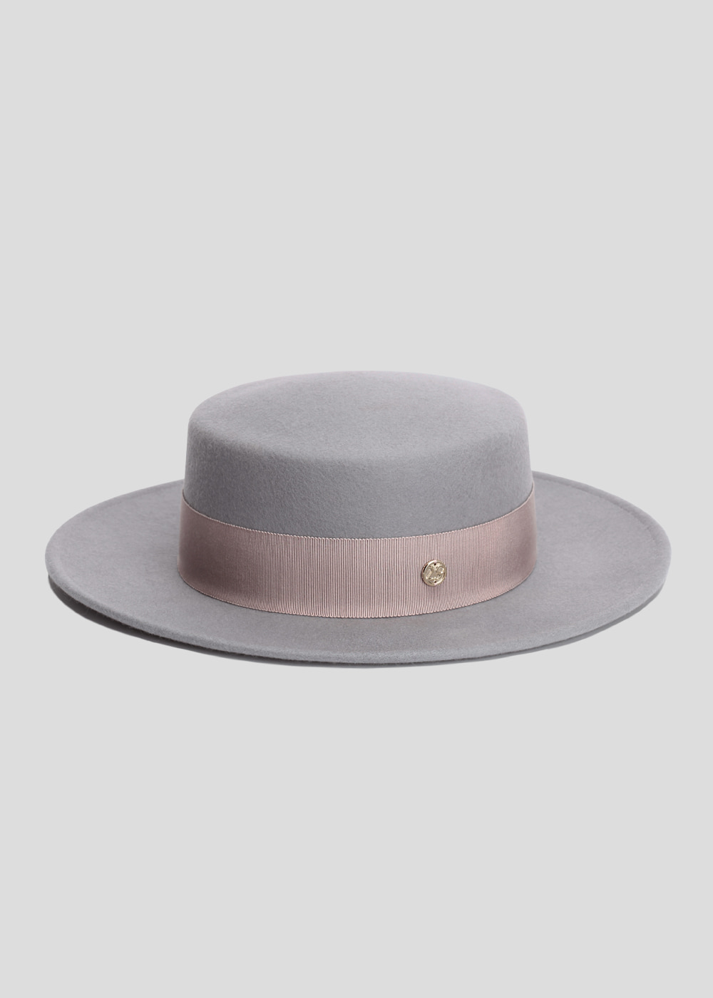 classic boater gray/ blush pink