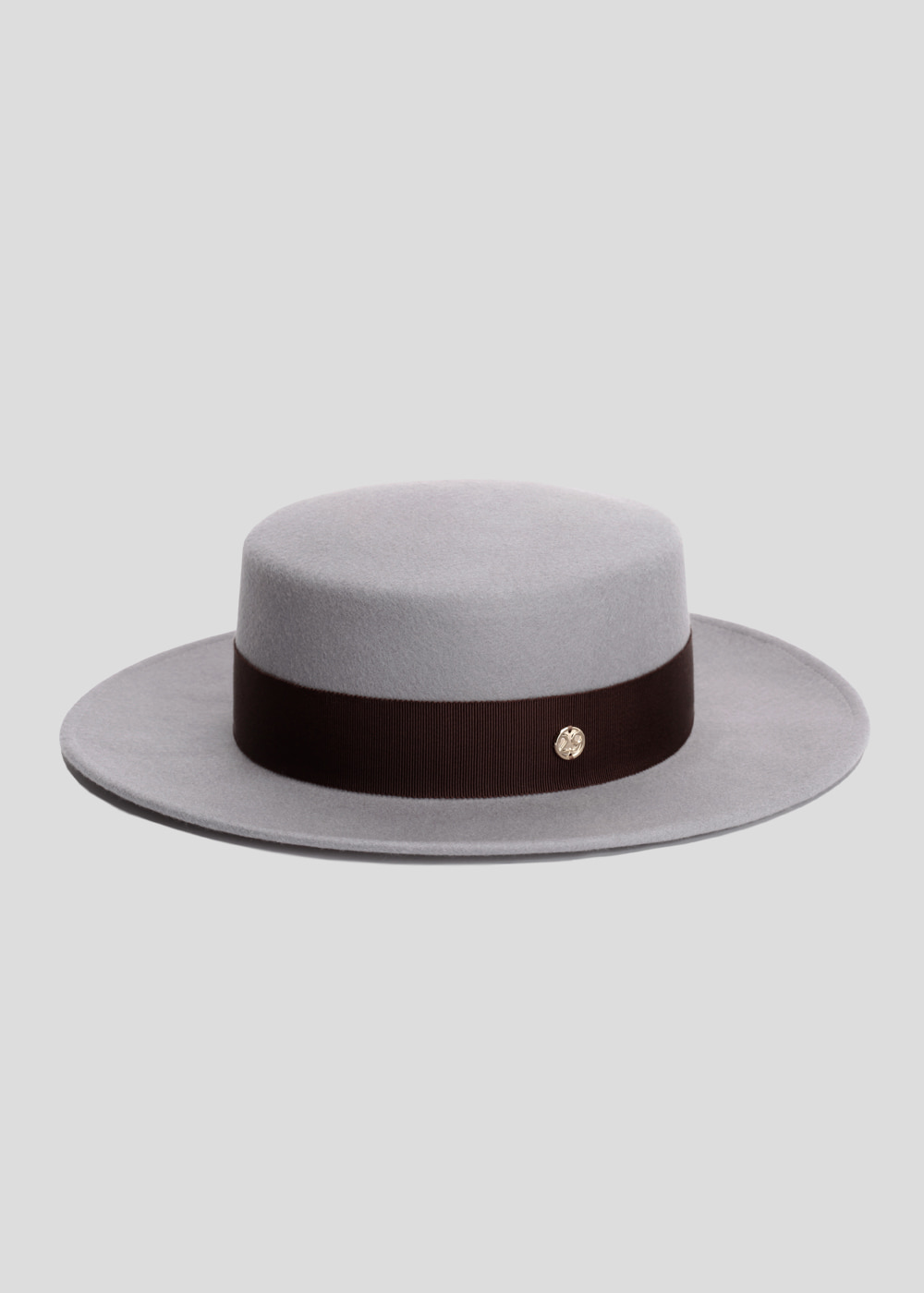 classic boater gray/ dark brown