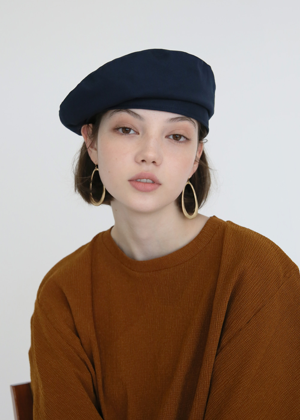 [sold out] joli-beret dark navy