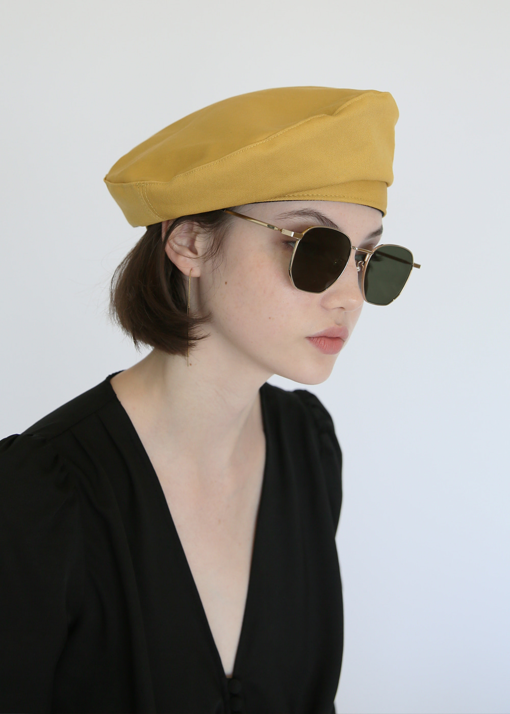 [sold out] joli-beret mustard