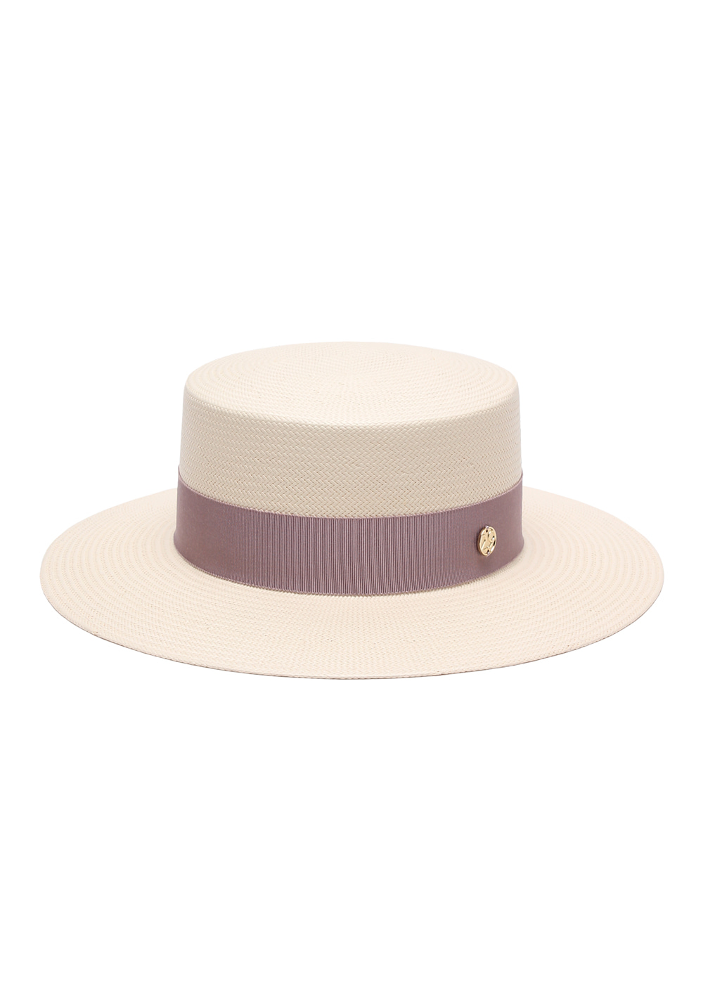 [5차 리오더] lumière Boater ivory/ light purple