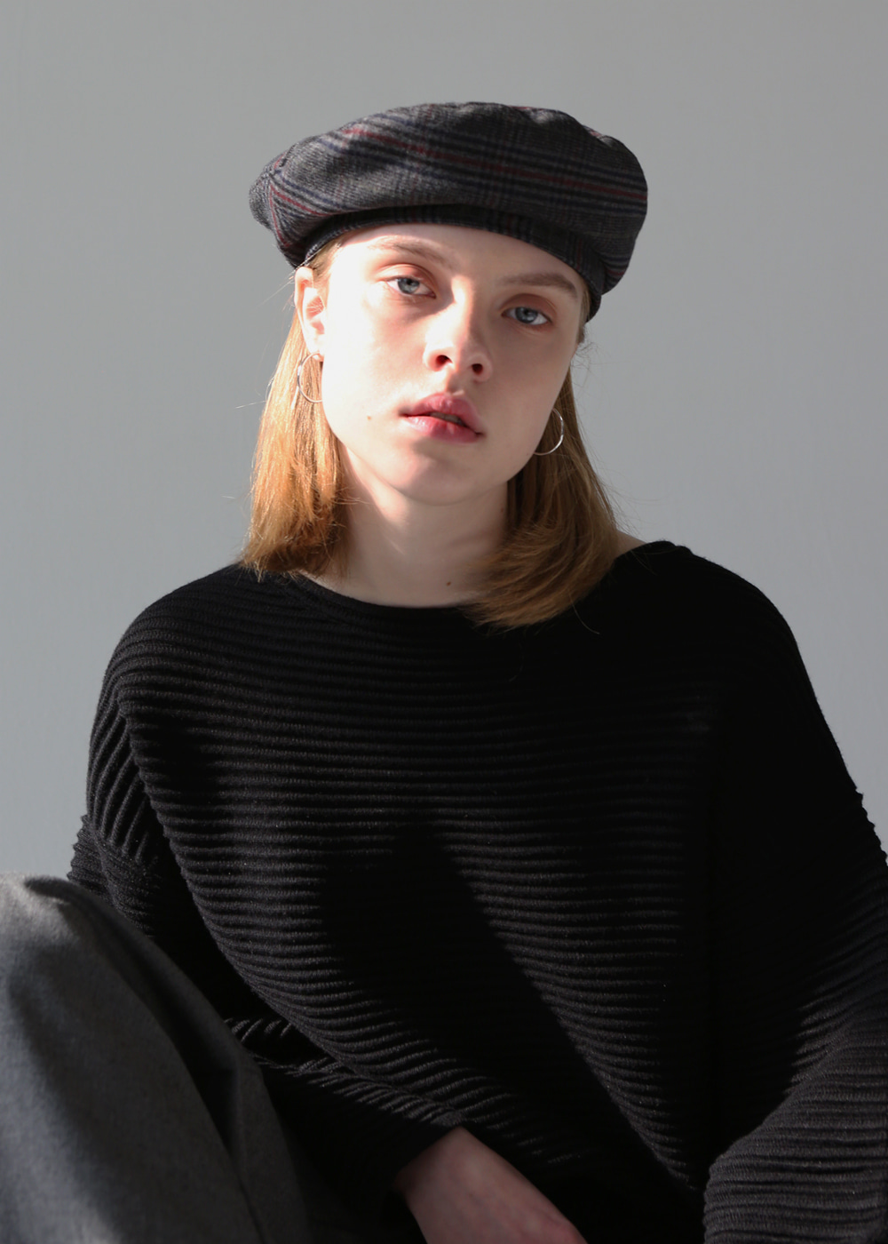 joli2-beret gray check